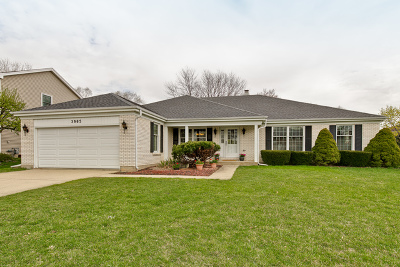 Hoffman Estates Single Family Home For Sale: 3965 Charlemagne Drive