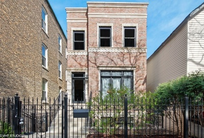 Chicago Single Family Home New: 2027 North Winchester Avenue