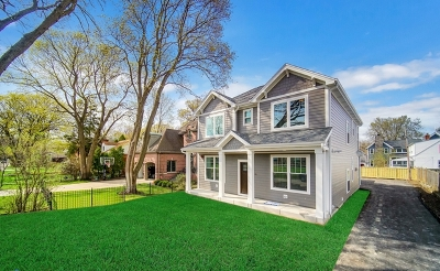 Wilmette Single Family Home New: 2432 Thornwood Avenue