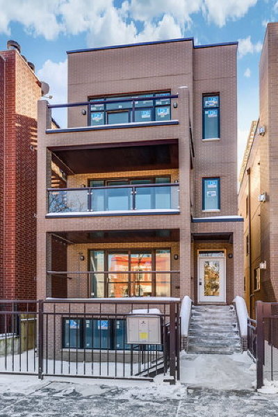 Condo/Townhouse New: 1448 West Erie Street #2