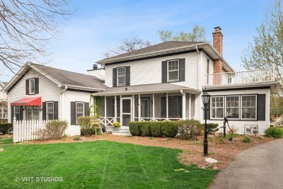 Downers Grove Single Family Home For Sale: 932 Prairie Avenue