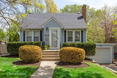 Downers Grove Single Family Home New: 5431 Park Avenue