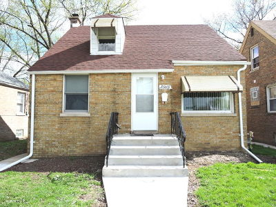 Chicago Single Family Home New: 3915 West 86th Place
