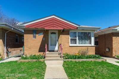 Chicago Single Family Home New: 7664 West Addison Street