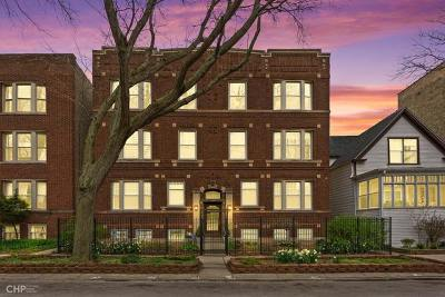 Chicago Condo/Townhouse New: 1434 West Hollywood Avenue #3