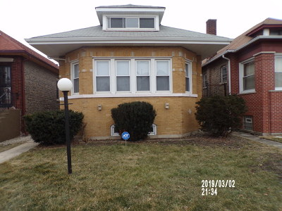 Chicago Single Family Home New: 7538 South Marshfield Avenue