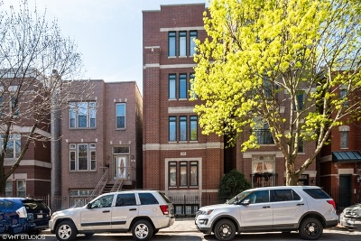 Chicago Condo/Townhouse New: 1345 West Fillmore Street #3