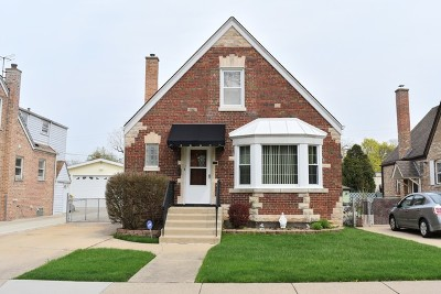 Chicago Single Family Home New: 4307 North Mulligan Avenue