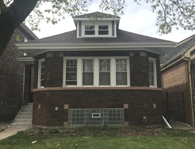 Chicago Single Family Home New: 7240 South Rockwell Street