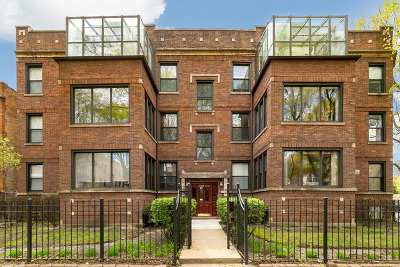 Condo/Townhouse For Sale: 2737 West Leland Avenue #2W