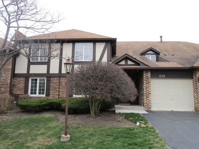 Willowbrook Condo/Townhouse For Sale: 6159 Brookside Lane #D
