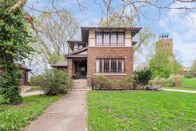 Single Family Home Price Change: 1303 South Fell Avenue