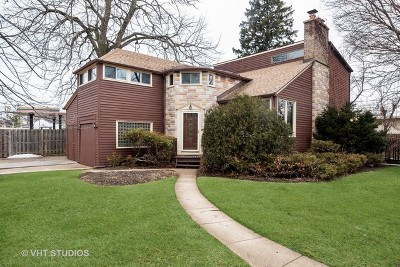 Single Family Home For Sale: 2926 Wilmette Avenue
