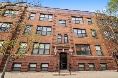 Andersonville Condo/Townhouse For Sale: 1352 West Bryn Mawr Avenue #3