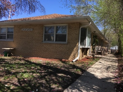 Downers Grove Multi Family Home For Sale: 4323 Elm Street