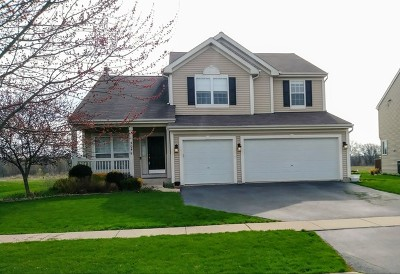 Genoa Single Family Home For Sale: 504 Winding Trail