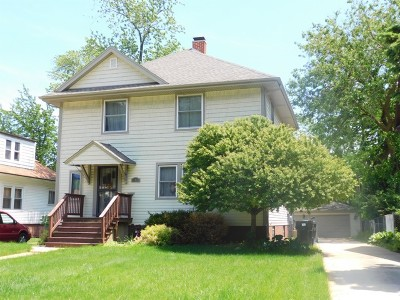 Chicago Single Family Home New: 11423 South Longwood Drive