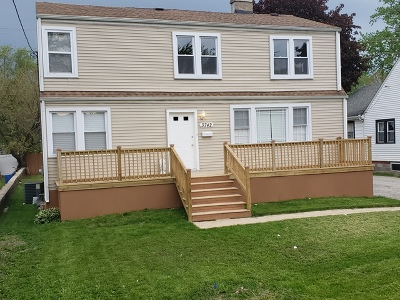 Alsip Single Family Home Contingent: 3742 West 115th Place