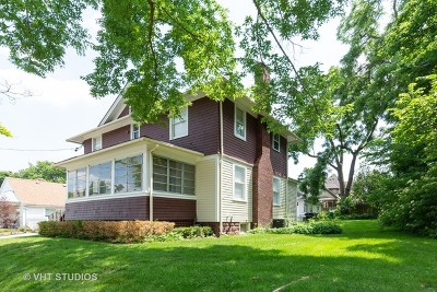 Barrington Single Family Home Price Change: 207 West Station Street