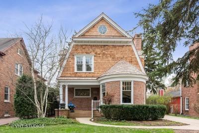 Single Family Home For Sale: 2021 Chestnut Avenue