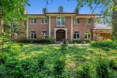 Highland Park Single Family Home For Sale: 999 Sheridan Road