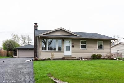 Woodridge Single Family Home Price Change: 2719 Forest Glen Parkway