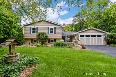 Wheaton Single Family Home Price Change: 26w540 Embden Lane