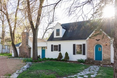 Warrenville Single Family Home Contingent: 3s180 Home Avenue