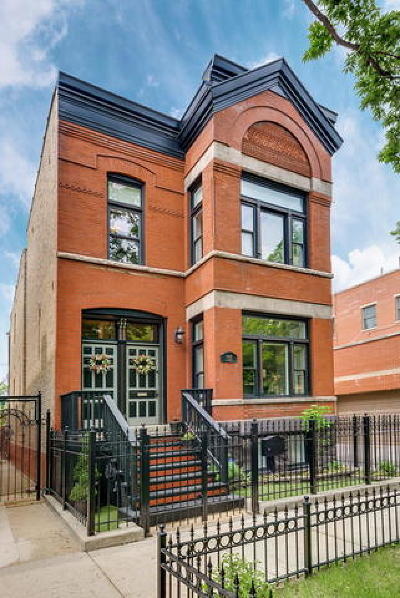 Single Family Home For Sale: 1542 North Leavitt Street