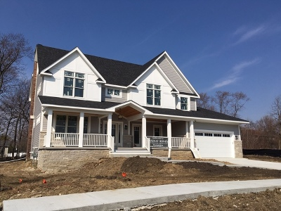 Downers Grove Single Family Home For Sale: Lot 7 Margo Court