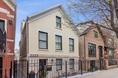 Wicker Park, Bucktown Single Family Home For Sale: 2223 West Charleston Street