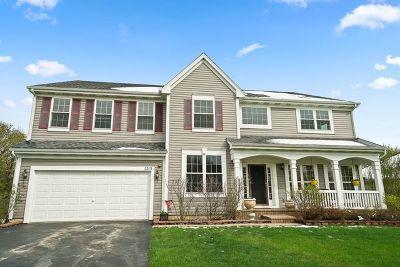 Hoffman Estates Single Family Home Price Change: 1215 Mallard Lane