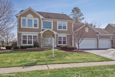 Lake Zurich Single Family Home Price Change: 1201 Rodgers Court