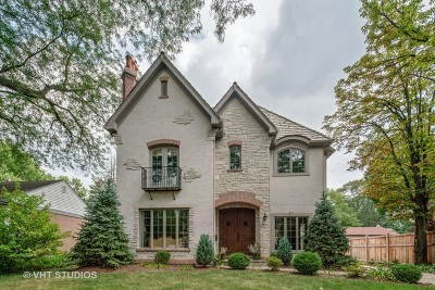 Hinsdale Single Family Home Price Change: 621 North County Line Road