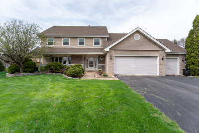 Naperville Single Family Home Re-Activated: 1609 Valley Ridge Court