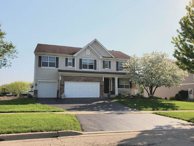 West Chicago  Single Family Home For Sale: 244 Post Oak Circle