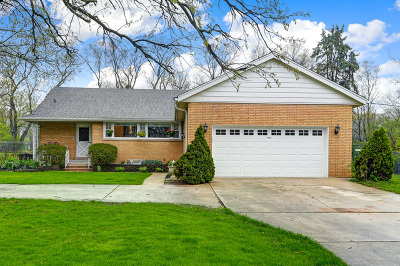 Burr Ridge Single Family Home Price Change: 8900 Orchard Street