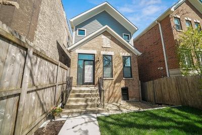 Wicker Park, Bucktown Single Family Home For Sale: 2320 West Montana Street