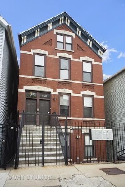 Condo/Townhouse For Sale: 1347 North Greenview Avenue #3F