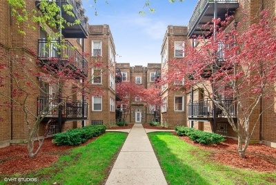 Andersonville Condo/Townhouse Contingent: 1445 West Victoria Street #2D