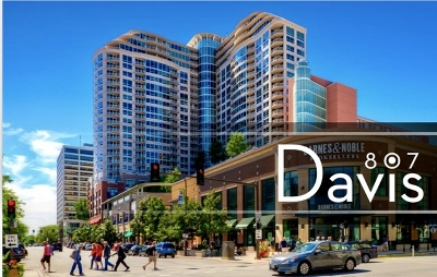 Evanston Condo/Townhouse Re-Activated: 807 Davis Street #1310
