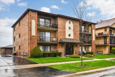 Tinley Park Condo/Townhouse For Sale: 16812 82nd Avenue #3S