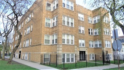 Condo/Townhouse For Sale: 3853 West Ainslie Street #2