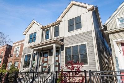 Single Family Home For Sale: 4413 North Damen Avenue