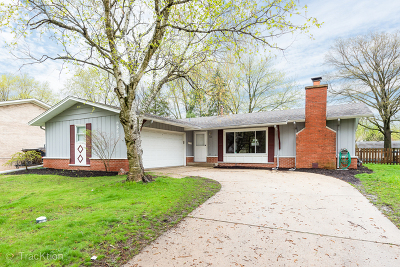Downers Grove Single Family Home Price Change: 6843 Valley View Drive