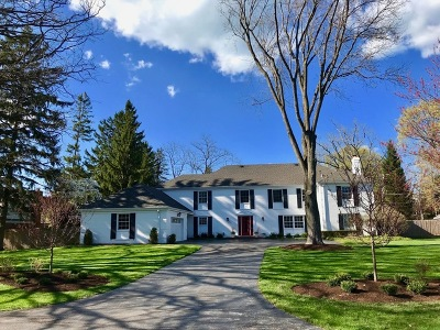 Lake Forest Single Family Home For Sale: 966 Maplewood Road