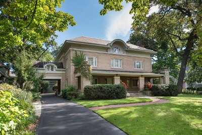 Evanston Single Family Home For Sale: 1315 Forest Avenue