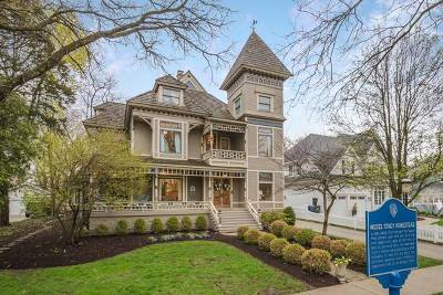 Glen Ellyn Single Family Home Price Change: 677 Highland Avenue
