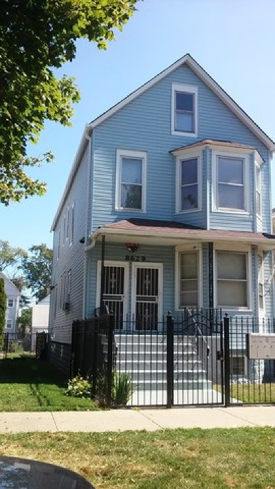 Chicago IL Multi Family Home For Sale: $139,999