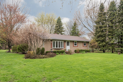 Woodstock Single Family Home For Sale: 2501 Greenwood Road